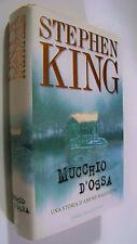 MUCCHIO D'OSSA Stephen King prima edizione 1999 cartonato Sperling & Kupfer