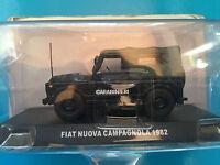 "DIE CAST "" FIAT NUOVA CAMPAGNOLA - 1982 "" SCALA 1/43 CARABINIERI"