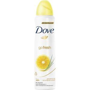 Dove Go Fresh Grapefruit & Lemongrass Antiperspirant Spray 150ml