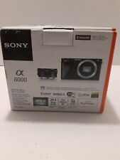 Sony Alpha a6000 Digital Camera with 16-50mm Lens *Parts*