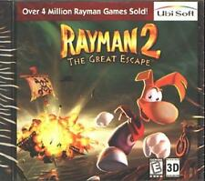 Rayman 2: The Great Escape (PC-CD, 1999) for Windows 95/98 - NEW CD in SLEEVE