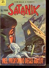SATANIK N. 25 - DICEMBRE 1965- NEL PROFONDO DEGLI ABISSI ***