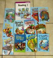 Abeka First 1st Grade Lot of 12 Books Readers and Reader Answer Key Current