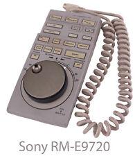 Sony RM-E9720 Pro Studio Broadcast Video EVO-9720 Dual VTR Editing Controller