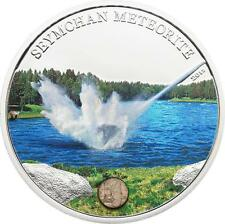Cook Islands 2012 5$ SEYMCHAN METEORITE Proof Silver Coin LIMITED MINTAGE