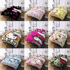 Hello Kitty Collection Single/Double/Queen/King Bed Quilt Cover Set