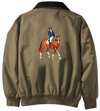 Dressage Embroidered Jacket - Jacket Back - Sizes XS thru XL