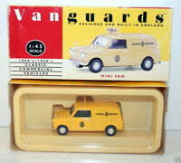 VANGUARDS 1/43 VA14002 AUSTIN MINI VAN AUTOMOBILE ASSOCIATION