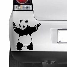 Banksy Panda STICK Em Up Divertenti Auto / Van / paraurti / Finestrino notebook vinile decalcomania adesivi