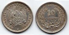 Urugay 10Centesimos 1877 A