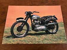 1951 500cc Triumph Trophy TR5 National Motorcycle Museum Postcard