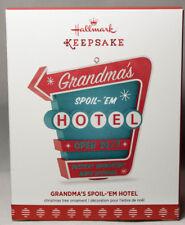 Hallmark: Grandma's Spoil-'em Hotel - 2017 Keepsake Ornament