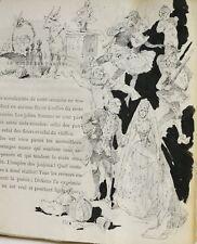 EXEMPLAIRE UNIQUE 22 dessins de Jeanne ROBAGLIA étincelle mondanités éo 1/10 n°