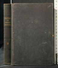 Hygiene Treaty Military. vol.2. Antonio Carnival. Tip. Military, Turin, 1852
