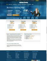 AUTOMATED Affiliate Website Hosting Business For Sale FREE Domain+Hosting
