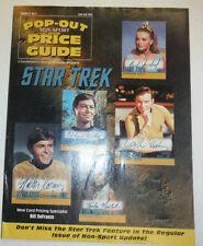 Pop-Out Price Guide Magazine Star Trek June/July 1998 032015R2