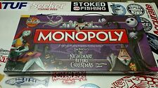 Brand New Factory Sealed Nightmare Before Christmas Monopoly Board Game