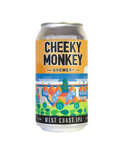 Cheeky Monkey West Coast IPA Cans 375mL case of 16 Craft Beer India Pale Ale