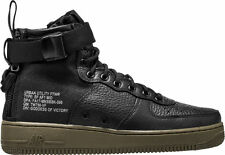 2017 Nike Air Force 1 SF AF1 Mid SZ 10.5 Black Gum Special Field 917753-002