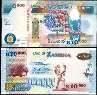 Kwacha Zambia 2012 UNC /> Leopard 50000 Pick 48h 50,000 OVD