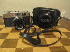 Vintage Konica Auto S2 Camera w/ Hexanon 45mm 1:1.8 Lens & Original Case