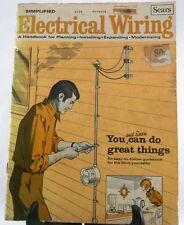 1979 Simplified Electrical Wiring Sears Handbook Hobbies & Crafts Paperback
