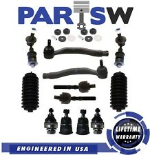 14 Pc Suspension Kit for Honda Prelude 1992-1996 All Models Tie Rods,Sway Bar