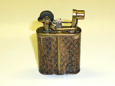 "IMCO ""SUPER"" LIGHTER WITH LIZARD SKIN - ""JULIUS FRANZ MEISTER"" - 1928 - AUSTRIA"