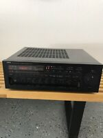 YAMAHA R-9 Natural Sound Stereo Receiver All Channel Works Except Channel A Left