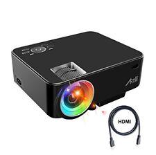 Retroprojecteur Artlii videoprojecteur portable LED Soutien HD 1080p Hdmi...
