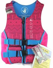"WOMEN's PFD--SKI/LIFE JACKET/VEST by ""BODY GLOVE"" NEW WITH TAGS-SIZE SMALL-30-33"
