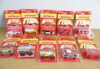 Majorette Movers Series 200 Die Cast Car Lot Rare