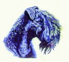 Embroidered Ladies Fleece Jacket - Kerry Blue Terrier Bt3603 Sizes S - Xxl