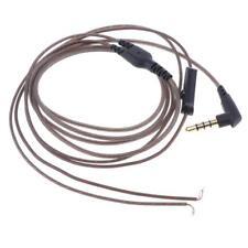 3,5mm Earphone Audio Cavo 1.2m Cuffie Ricambio Aggiornamento Cavo per Cuffie