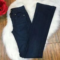 "Paige Women's ""Manhattan"" Fit Dark Wash Slim Skinny Fit Denim Jeans Size 26"