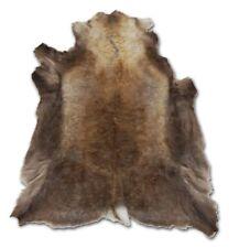 Norwegian Reindeer Real Fur Hide Pelt Rug - XXL - Size: 46x57