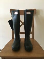 Hunter Original Tall Dark Olive Wellington Boots