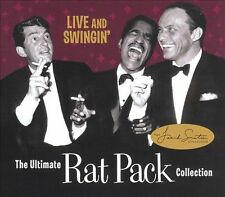 Live and Swingin': The Ultimate Rat Pack Collection: CD + DVD New in Shrink Wrap