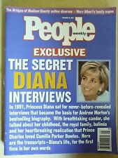 People Weekly Magazine The Secret Diana Interviews Oct 1997 Vol 48 No 15 M293