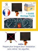 Afficheur LCD ECRAN centrale COMPTEUR ODB PEUGEOT 407, 407 SW 407 COUPÉ + GUIDE