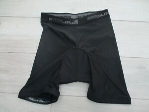 Endura Padded Cycling Shorts Mesh Liner Click Fast Black Clickfast L Large 200