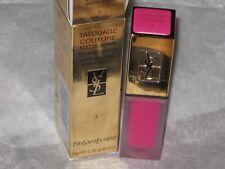 YSL # 3 LIPSTICK Tatouage Couture Liquid Matte Lip Stain $36.00 NEW