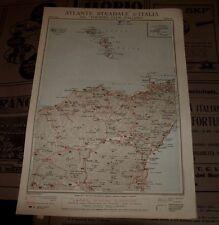 PATTI - ETNA 1925 ATLANTE STRADALE D'ITALIA TCI Foglio n. 44