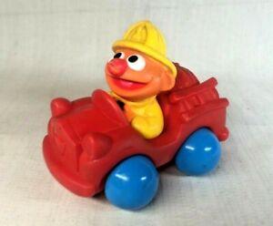 Vintage Sesame Street Ernie Rubber Toy
