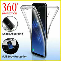 ShockProof Hybrid 360 TPU Case Cover For Samsung Galaxy S7 edge S8 S9 S10 Plus O