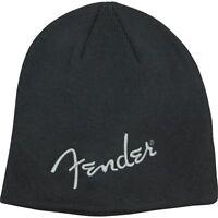 Fender Script Logo Beanie Black