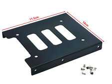 """1x PC Metal 2.5"""" to 3.5"""" SSD to HDD Mounting Adapter Bracket Hard Drive Holder"""