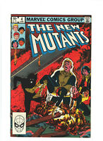 New Mutants #4 VF+ 8.5 Marvel Comics 1983 Bronze Age Chris Claremont X-Men