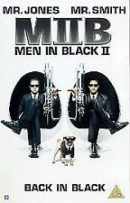 Men In Black 2 VHS Video Tape - 2003 - Free Postage