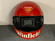 Large Collectable Clock Winfield Cigarette Milk Bar Racing Helmet Display